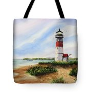 Light At The Inlet Tote Bag