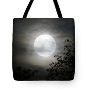 Light Behind The Clouds Tote Bag
