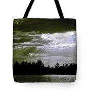 Light Blast In Evening Tote Bag