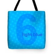 Light Blue Angel Tote Bag