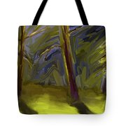 Light Breaking Through Tote Bag