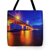 Light Bridge Tote Bag
