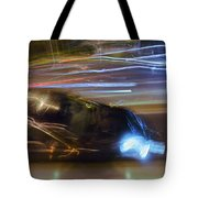 Light Car   Carrosse De Lumiere Tote Bag