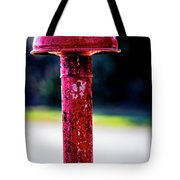 Light Color And Texture On Tractor Exhaust 2050vc  Tote Bag