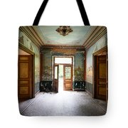 Light Come In - Deserted Castle Tote Bag