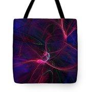 Light Dance 11-25-09 Tote Bag