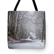 Light Dusting Of Snow Tote Bag