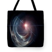 Light From The Vortex Tote Bag