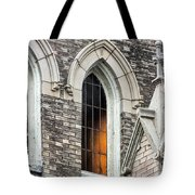 Light From Within, Gothic Church Architecture Tote Bag