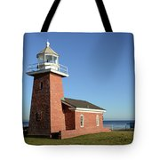 Light House At Santa Cruz Tote Bag