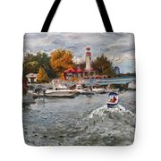 Light House Mississauga Tote Bag