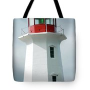Light House Peggy's Cove Tote Bag