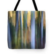 Light In Evening Forest Tote Bag