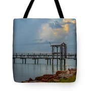 Light In The Sky Tote Bag