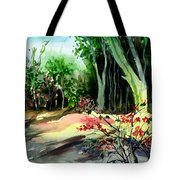 Light In The Woods Tote Bag