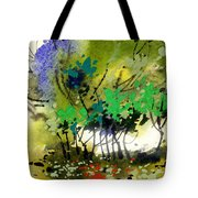 Light In Trees Tote Bag