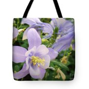Light Lavender Flowers Tote Bag