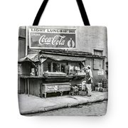 Light Lunch - Hot Dogs - Coca Cola Tote Bag
