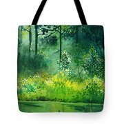 Light N Greens Tote Bag