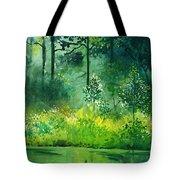 Light N Greens Tote Bag
