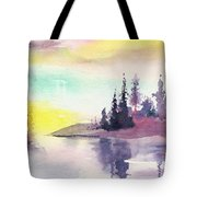 Light N River Tote Bag
