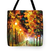 Light Of Autumn Tote Bag