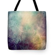 Light Of Life Abstract Painting Tote Bag