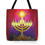 Light Of Life Tote Bag by Nancy Cupp