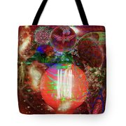Light Of Man Multidimentional Sight Tote Bag