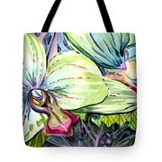 Light Of Orchids Tote Bag