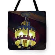 Light Of Our Lady Of Le Leche Tote Bag