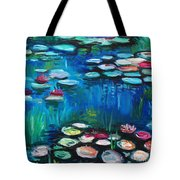 Light Of The Lillies Tote Bag