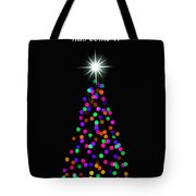 Light Of The World Christmas Card Tote Bag