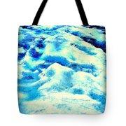 Light On Glacier Tote Bag