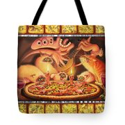 Light On The Anchovies Tote Bag
