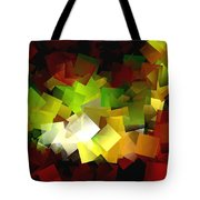 Light On The End Of Darkness Tote Bag