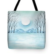 Light On The Field Tote Bag