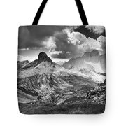 Light On The Valley Tote Bag