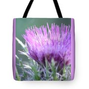Light On Thistle Tote Bag