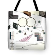 Light Optics, Reflection & Refraction Tote Bag