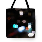 Light Orbs Tote Bag