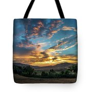 Light Over Hollenbeck Tote Bag