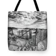 Light Over The Dunes Tote Bag