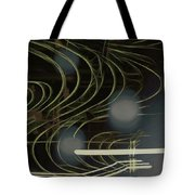 Light Painting Energy Tote Bag