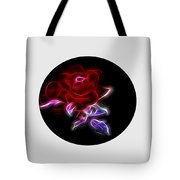 Light Play Rose Tote Bag