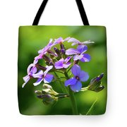 Light Purple Flowers  Tote Bag