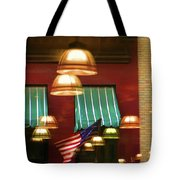Light Reflection Nyc Canopy  Tote Bag