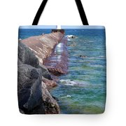 Light Reflections Tote Bag