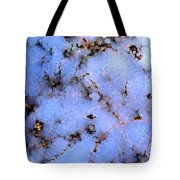 Light Snow In The Woods Tote Bag