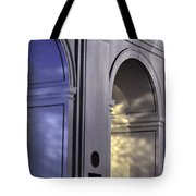 Light Splattered Arches Tote Bag